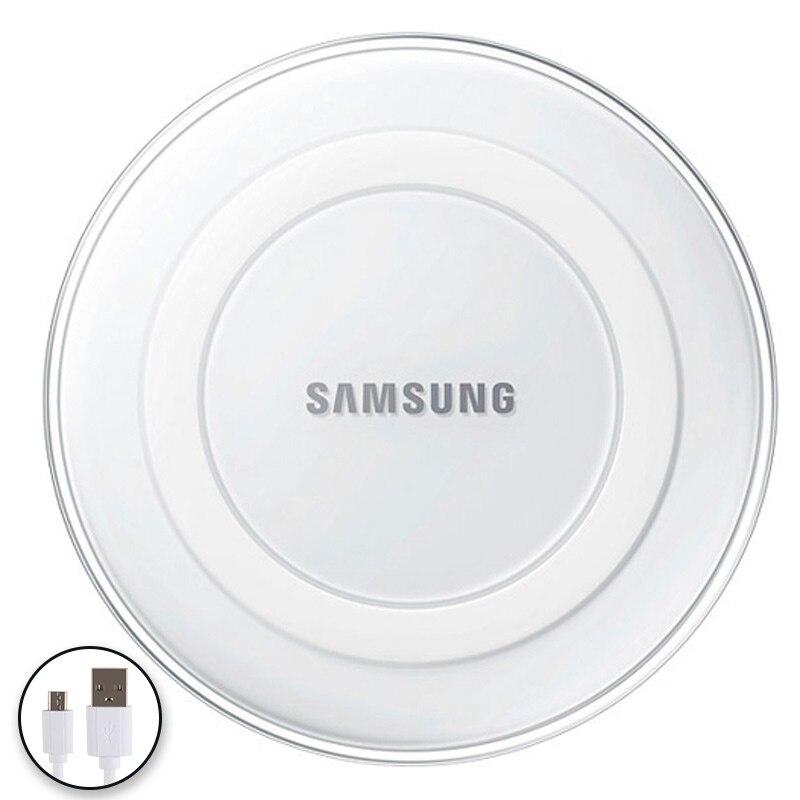 삼성 갤럭시 S6 S7 S8 S9 플러스 참고 9 8에 대 한 오리지널 2A QI 무선 충전기 아이폰 X XS 최대 XR 8 플러스 USB 전화 충전기, 러시아|White (POP 5702995007)