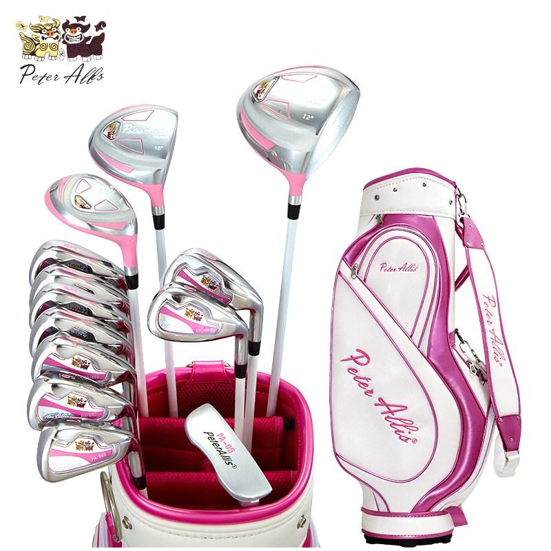 여성골프채 풀세트 - peterallis 여성골프채풀세트 R클래스세트 초보자용 골프클럽 풀세트, 핑크