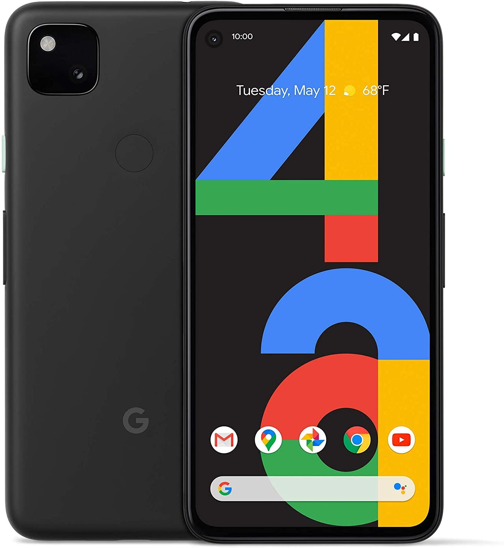 구글 Pixel 4a 128GB 뉴 언락 안드로이드 스마트폰 Black, New Unlocked Android Black