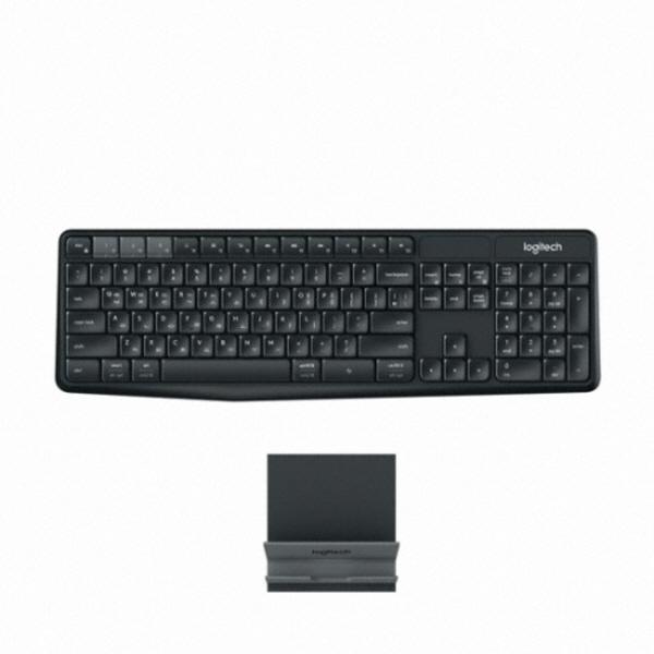 로지텍 멀티 디바이스 무선 키보드 K375s, 단일상품, 단일색상