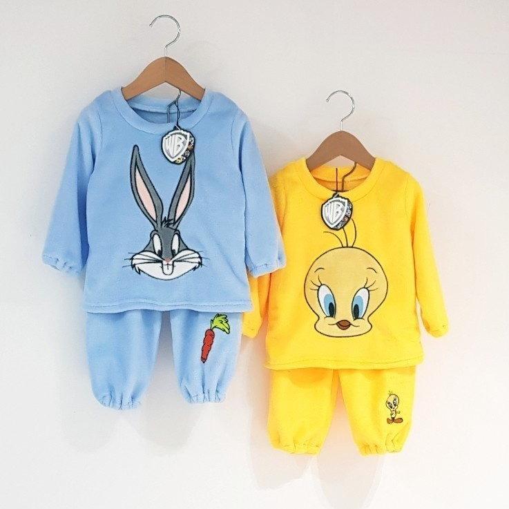 우연 유아동복 남아 여아 캐릭터 루니툰 수면잠옷