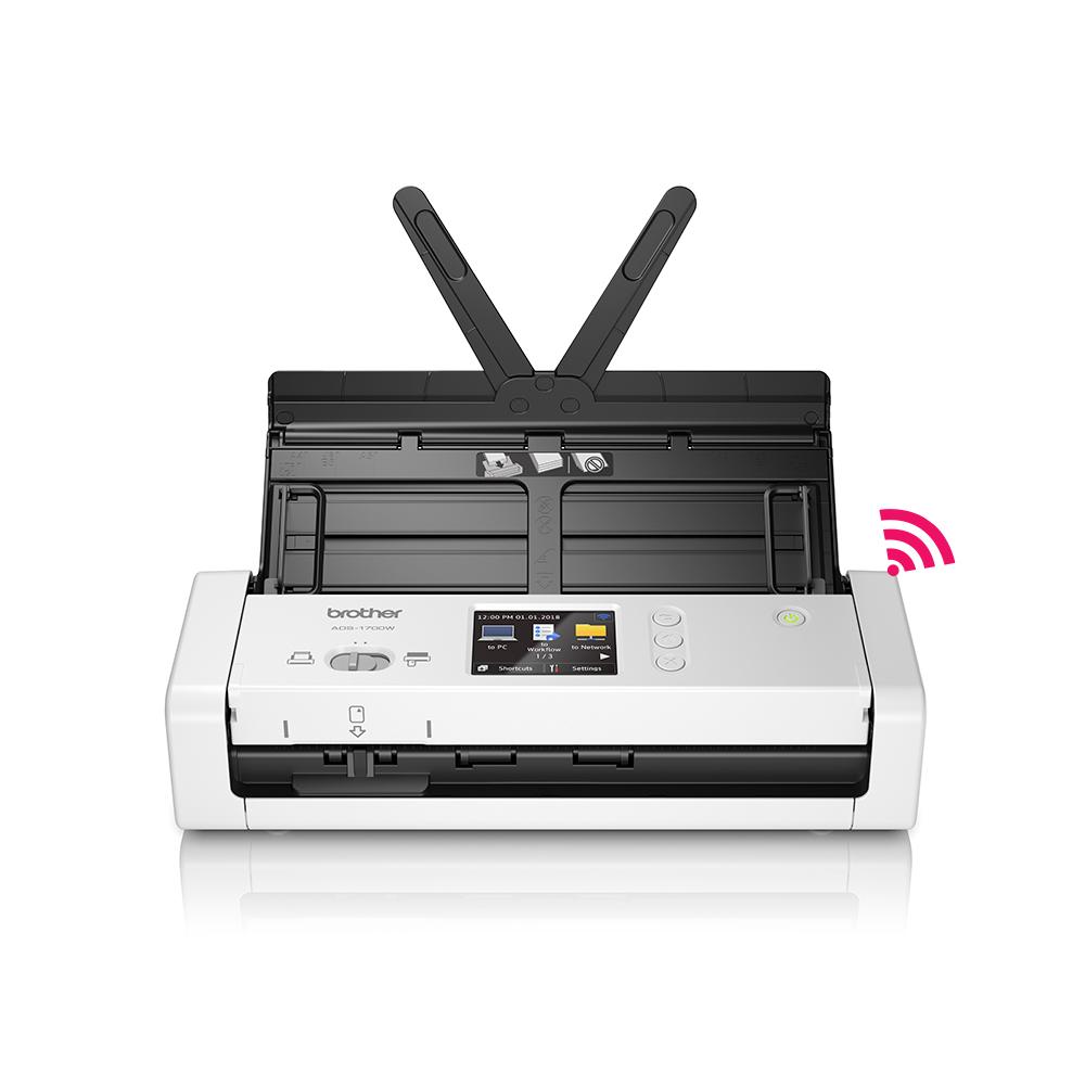 브라더 ADS-1700W 스캐너 양면스캔 문서스캔 무선지원