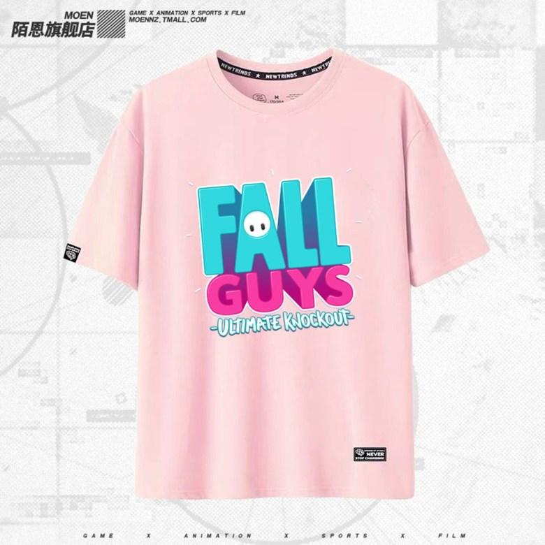 스팀 게임 PS4 FallGuys 폴가이즈 남여 반팔 티셔츠