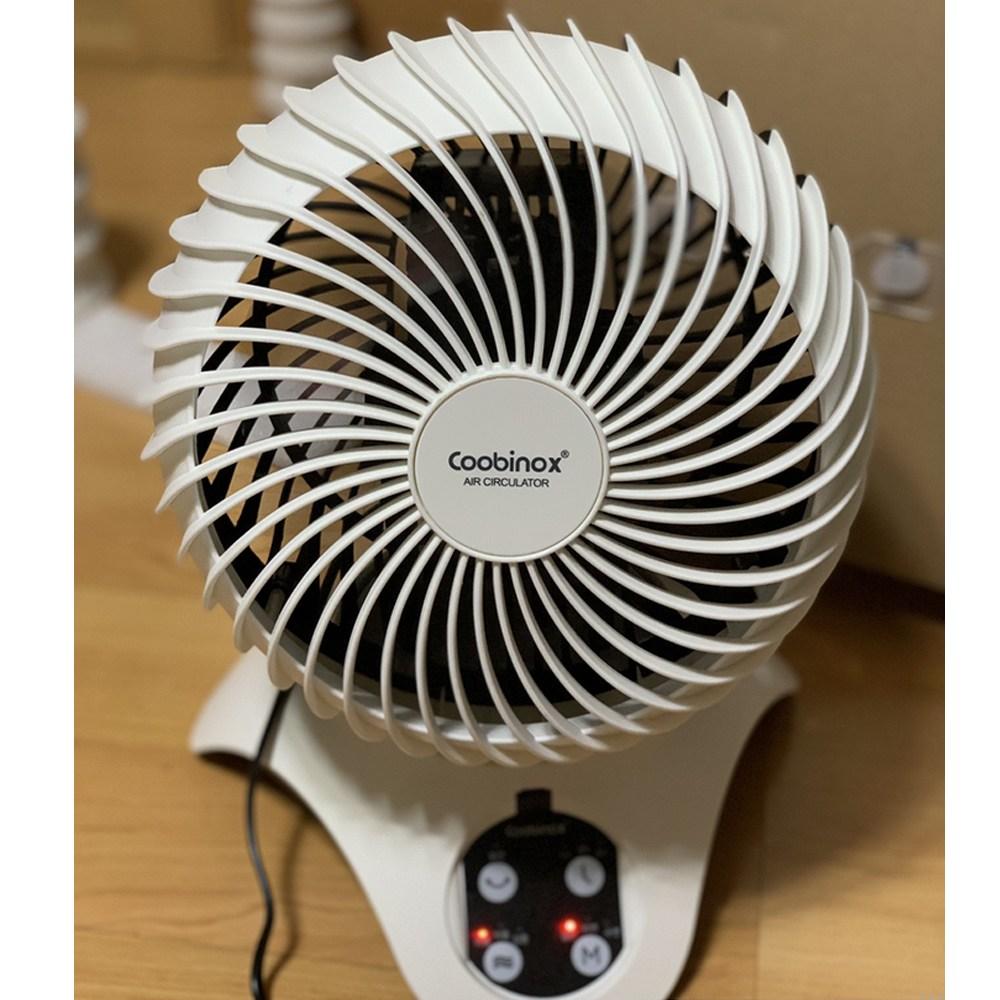 쿠비녹스 플로우 써큘레이터 가정용 원룸 사무실 시원한 선풍기 공기순환 CX-193-CA (POP 5409956436)