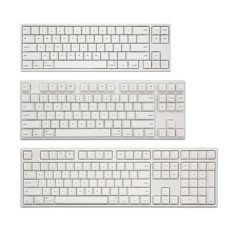 Varmilo 바밀로 애플 Mac 시리즈 기계식 키보드 컬렉션, 단일, VA87Mac 유선 87키_저소음 적축