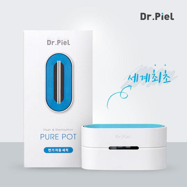 닥터피엘 화장실 변기 속 세균 때 냄새 해결 퓨어팟 자동 세정기, 1세트