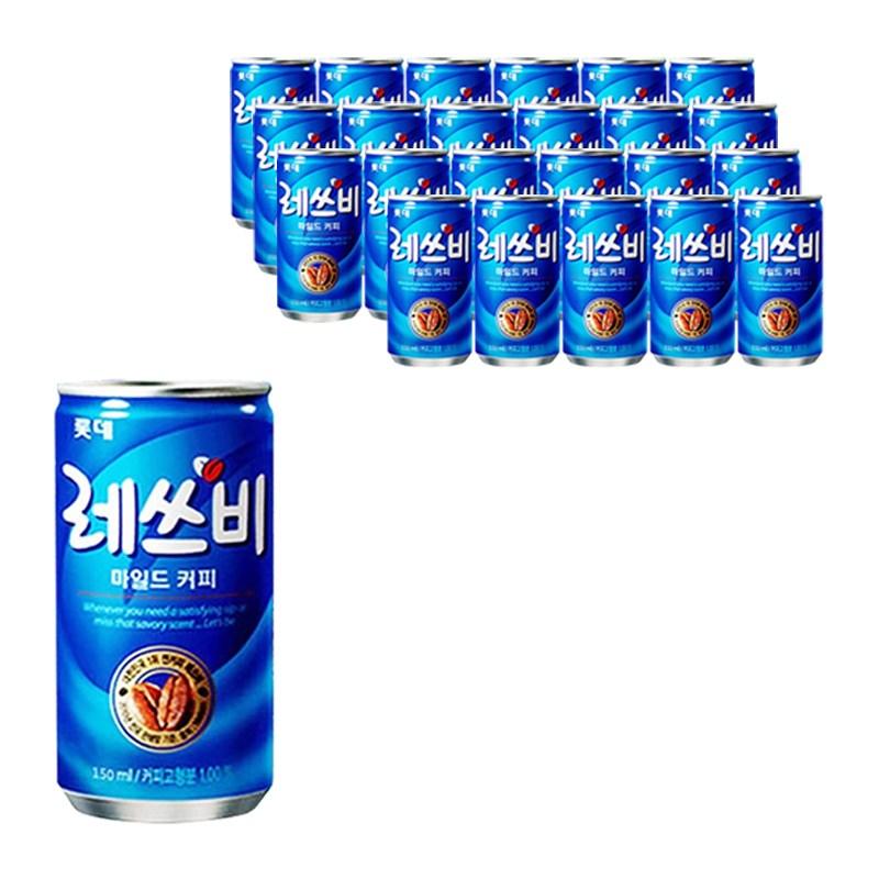 롯데칠성 레쓰비 150ml* 24캔 (업소용 음료), 24개, 150ml