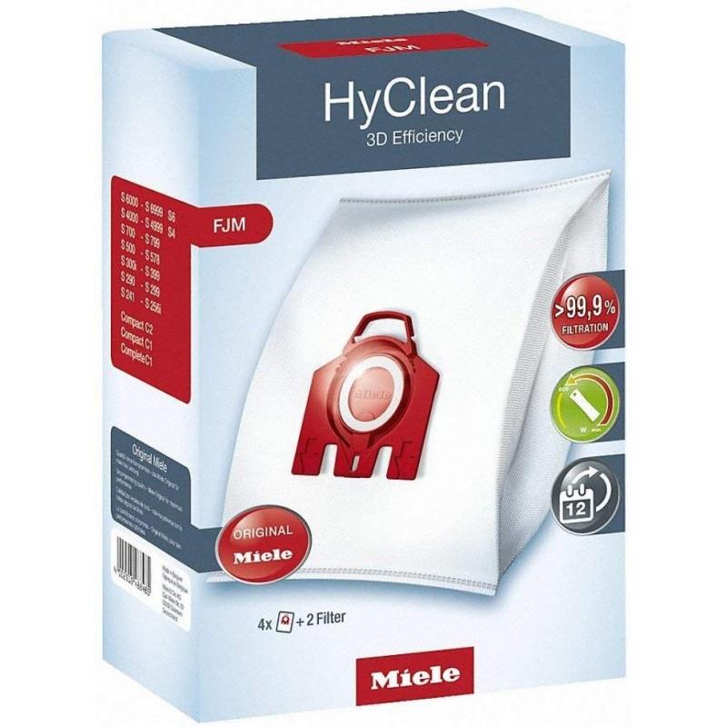 Miele (미레) 청소기 용지 팩 3D 먼지 봉투 세트 F / J / M 3D F / J / M (POP 201622711)