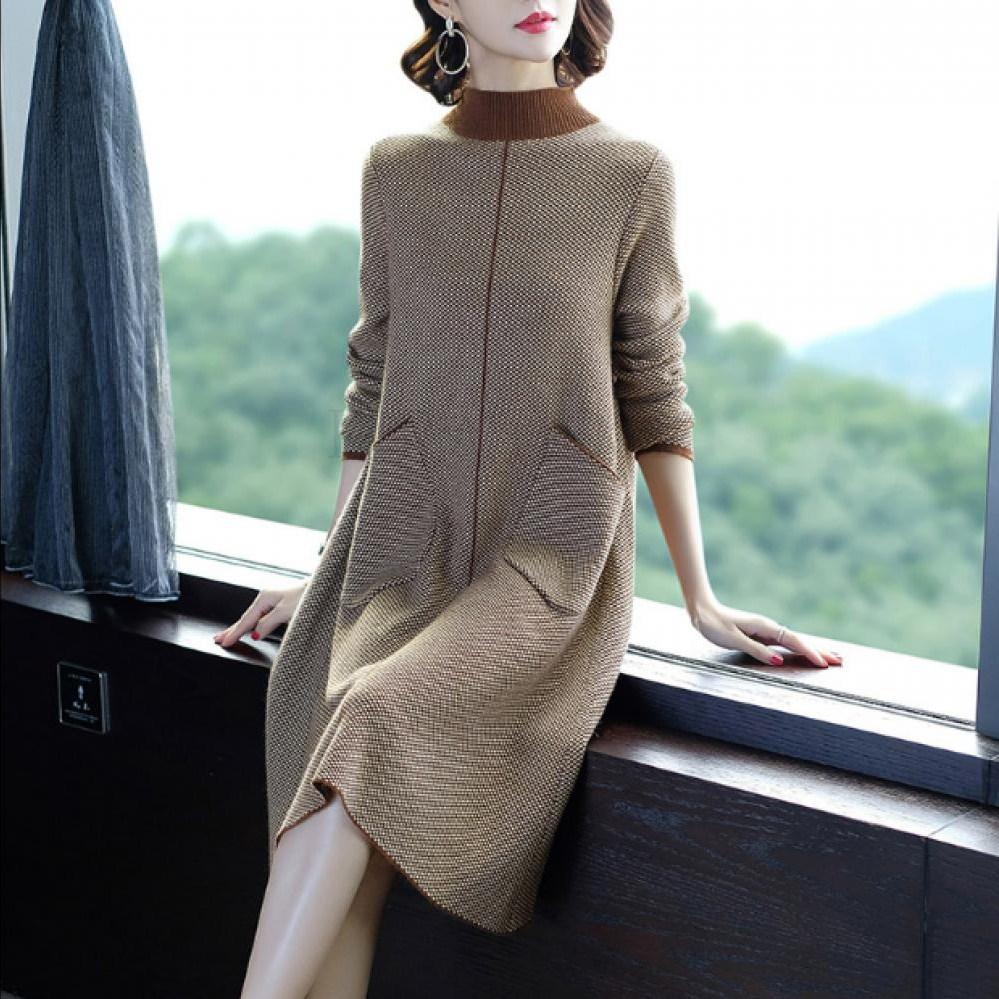 kirahosi 가을 여자 겨울 원피스 여성 원피스 캐주얼 패션 379 HR 8덧신 증정 CG3461vo