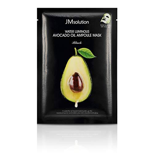 JM Solution Water Luminous Avocado Oil Ampoule Mask Black (Si/8889702, 상세내용참조, 상세내용참조