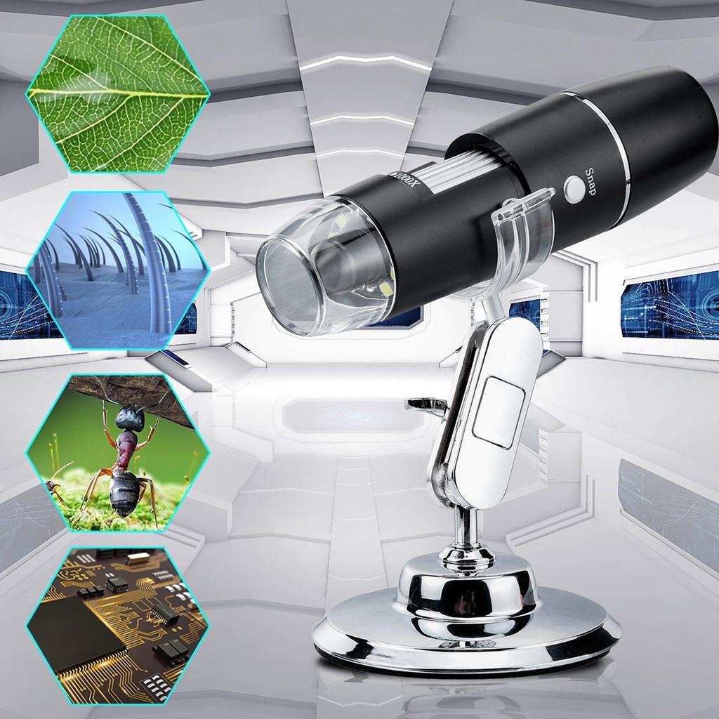무선 WiFi 디지털 현미경 1600X 배율 내시경 카메라, 중국