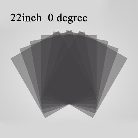 해외 새로운 22 인치 22 인치 04590 도 광택 LEDLCD 편광판 LCD 용 편광 필름 TV LCD 모니터 용 IPS 스크, One Color_45 degree, One Color_45 degree, 상세 설명 참조1