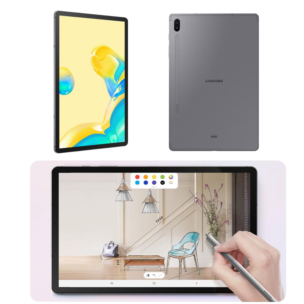 삼성 갤럭시탭 S6 5G 128GB 태블릿pc 태블릿 테블릿pc 추천 삼성태블릿 삼성테블릿pc 삼성패드 10인치태블릿 삼성태블릿pc 갤럭시태블릿 가벼운 대학생 인강용태블릿, 마운틴그레이, SM-T866N