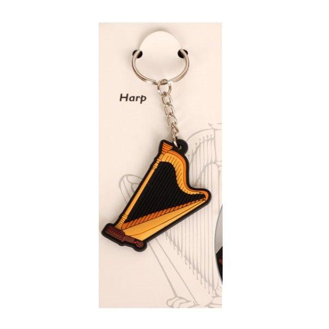 0519 키체인 Harp 하프 악기 열쇠고리 Key-Ringjjin