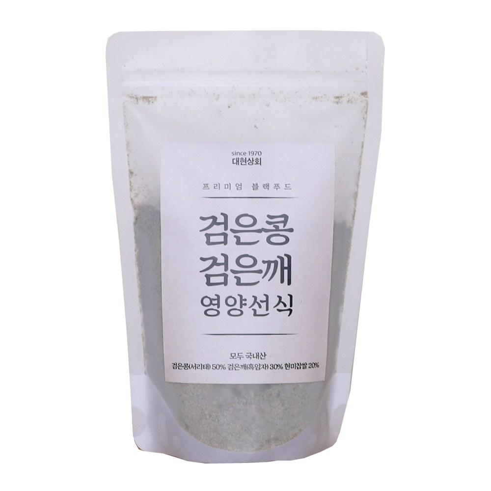 50년전통대현상회 무첨가 국산 검은콩검은깨선식, 250g, 1개