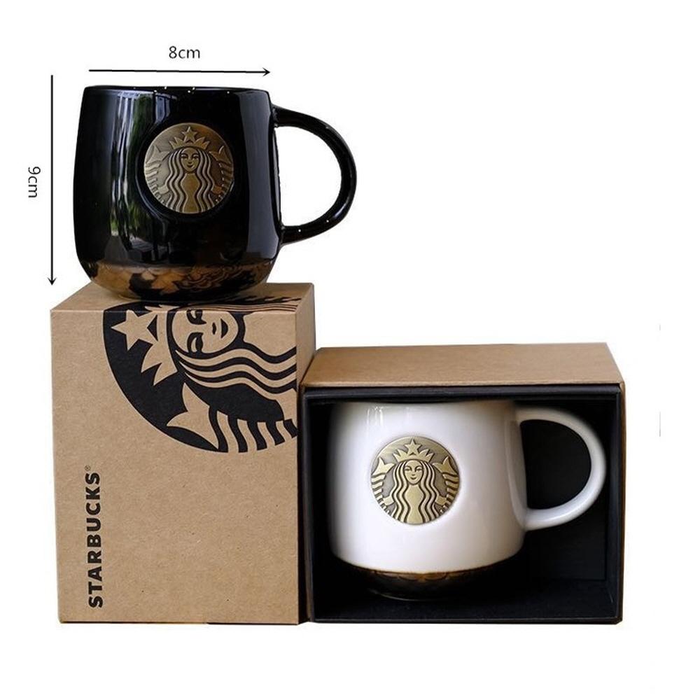 [진품] 2019 스타벅스 스벅 머그컵 머그잔 커피잔 머그 황동싸이렌, 머그컵1+스푼1(색상랜덤)