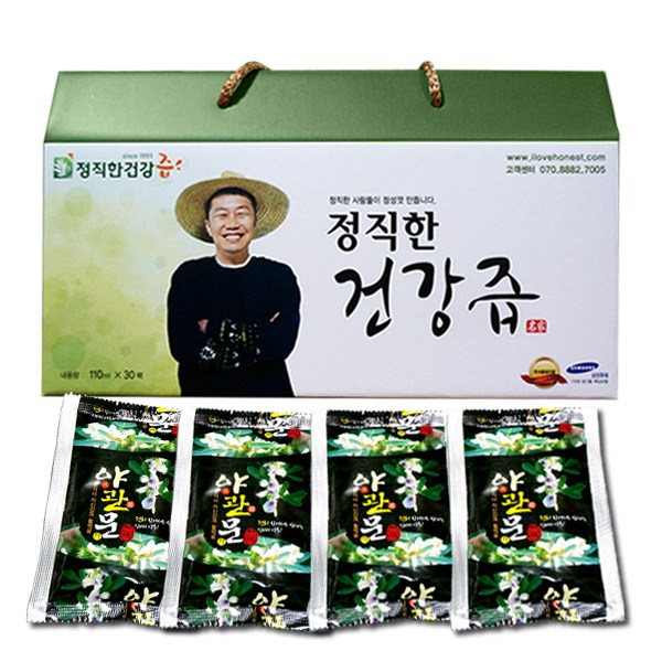 정직한건강즙 정직한 야관문즙 국내산 야관문 비수리 100% 기타건강즙, 110ml, 30포