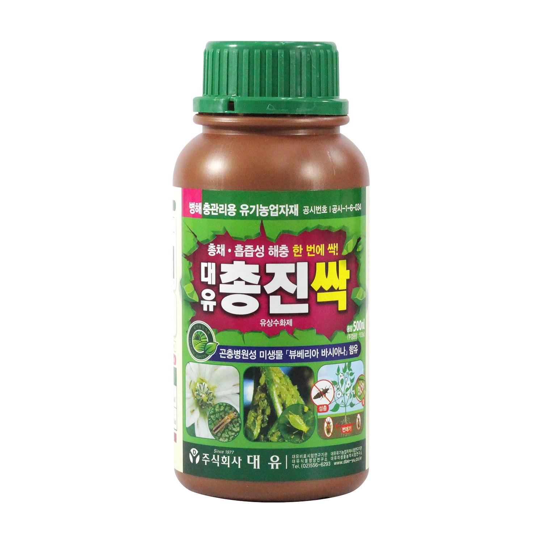 대유 총진싹 500ml 친환경 농약, 단품