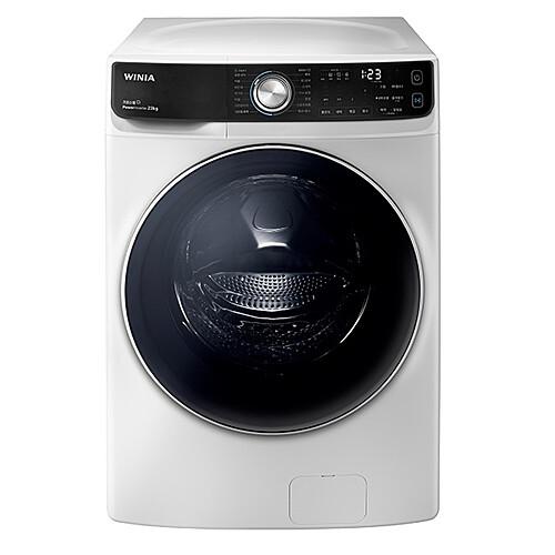 위니아딤채 WWD23GDW 드럼세탁기 23kg 크린스팀 크린샷 인버터모터 화이트, 세탁기/세탁기