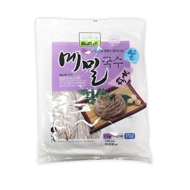 칠갑 생메밀국수1kg 판모밀 막국수, 1개, 1kg