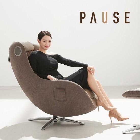 [무이자 10개월] 세라젬 파우제 안마의자, 상세설명 참조, 크림 베이지