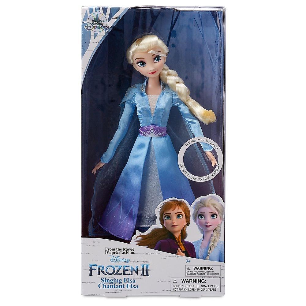 미국디즈니스토어정품 Elsa Singing Doll Anna Singing Doll 노래하는 엘사인형 노래하는 안나인형 겨울왕국2 인형
