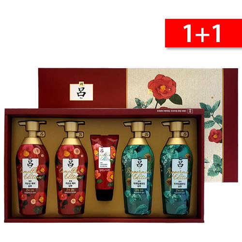 1+1 명절 선물세트!! 아모레 동백앤박하 에디션선물세트, 1개+1개