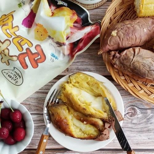 (팜스뱅크) 아이스 치즈 군고구마, 1개, 140g