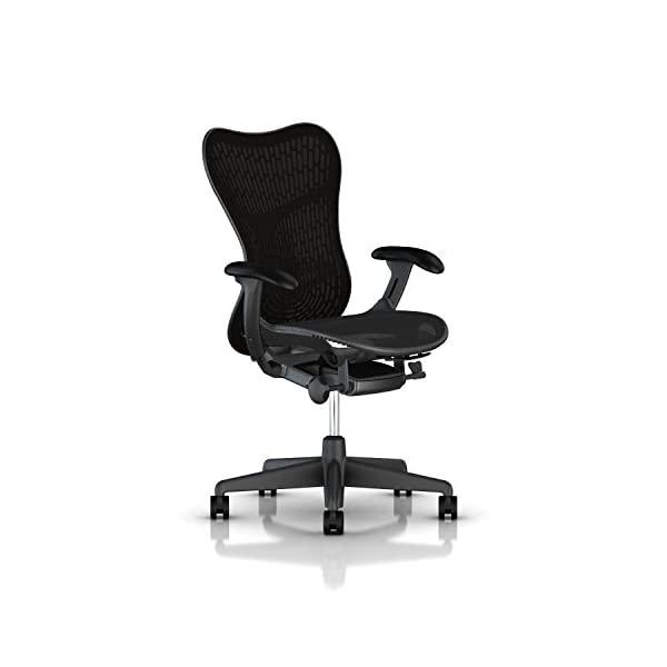 Herman Miller Mirra 2 Task Chair: Tilt Limiter w/Seat Angle Adjustment - FlexFront Adj Seat Depth -, Tilt Limiter_ Butterfly Back