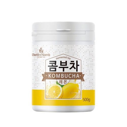 아트박스/메가커피 베티나르디 콤부차 레몬 500g 1박스 8개, 본품