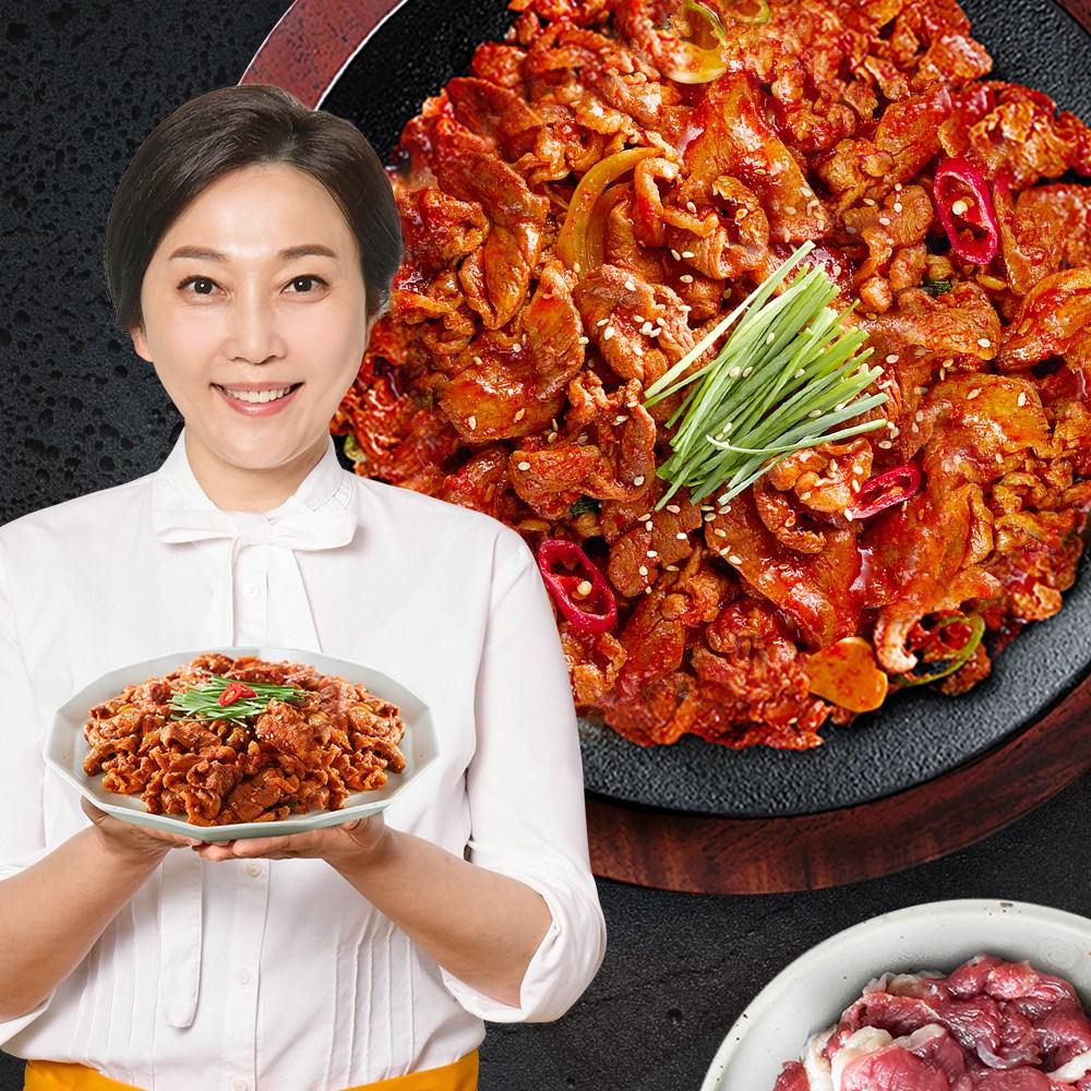 김나운더키친 김나운 오리한판 주물럭 5팩 (200gX5팩), 단품