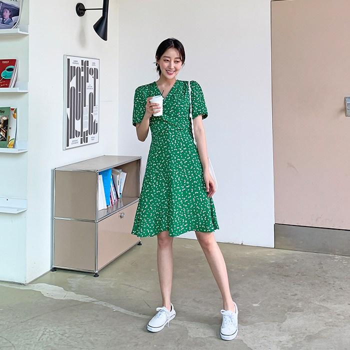 [여성패션] 달리샵 실키 캔들패턴 원피스 - 랭킹54위 (15920원)