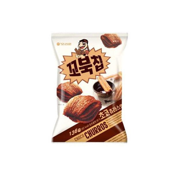 오리온 꼬북칩 초코츄러스맛 136g
