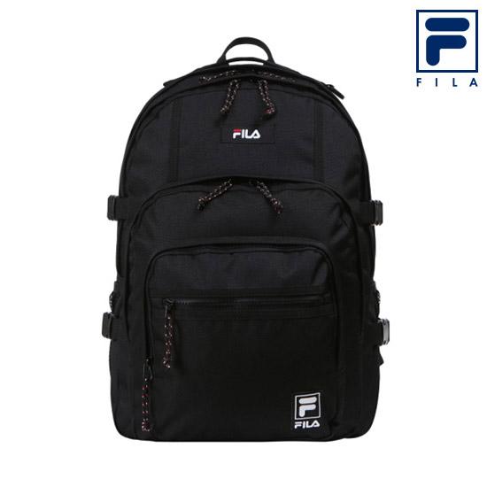 휠라 3포켓 백팩 FS3BPC5305X_BLK 노트북 책가방, 블랙