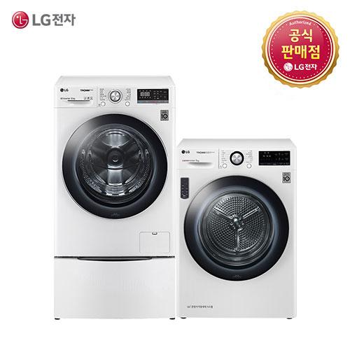 LG 트롬 F12WVC-9V(F12WVC+RH9WV) 세탁기 건조기세트, F12WVC-9V