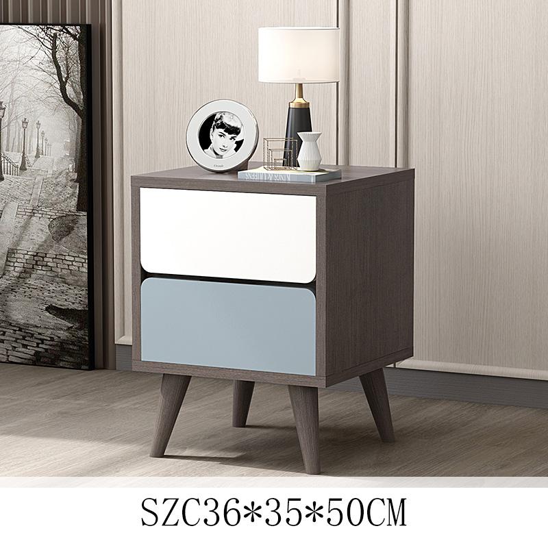 뉴타임즈3 침대머릿장 침대옆 작은 궤 간단한 미니수납 창고형 침실 칸막이가 소형 A8, SZC36*35*50CM