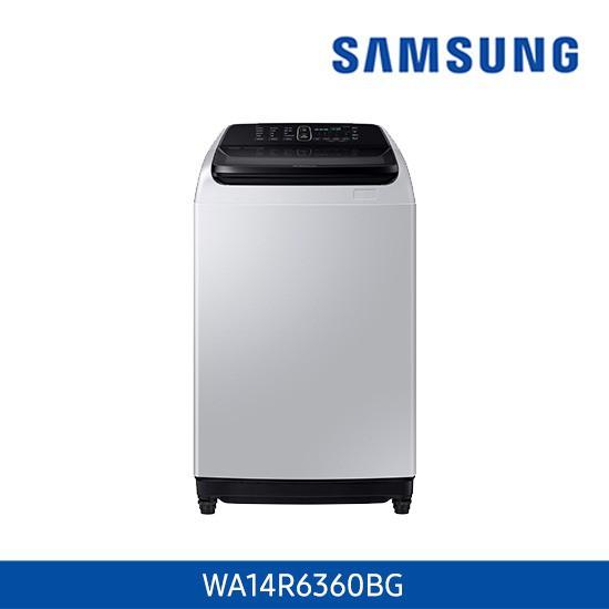 삼성 워블 세탁기 14kg 그레이 WA14R6360BG, 없음