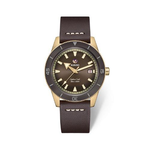 [라도][스와치그룹코리아 정품] RADO 라도 캡틴 쿡 브론즈 브라운 남성시계 R32504306