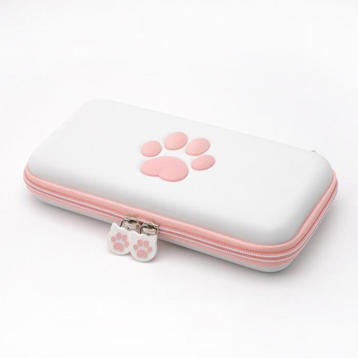 스냅케이스 닌텐도 스위치 라이트 고양이 캐링케이스 파우치, 1개