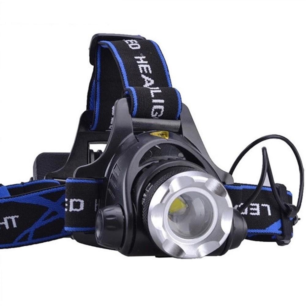 밥심스포츠 (풀세트) 충전식 LED 작업등 헤드 랜턴 머리 라이트 헤드랜턴