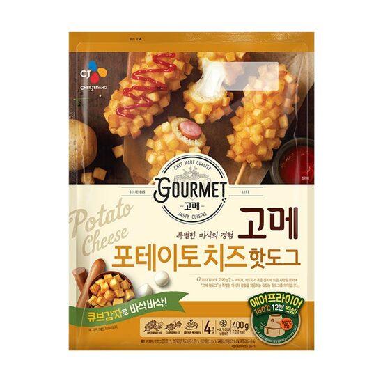 CJ 고메 포테이토치즈 핫도그400g, 단일상품