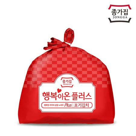 종가집 행복이온 플러스 포기김치(백두) 10kg, 상세페이지 참조