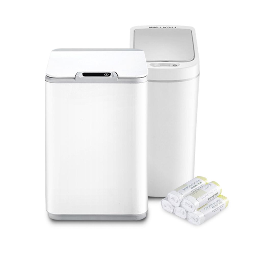 샤오미 NINESTARS 스마트 휴지통 자동센서 다용도 방수 쓰레기통 7L 10L, 1개, TYPE2