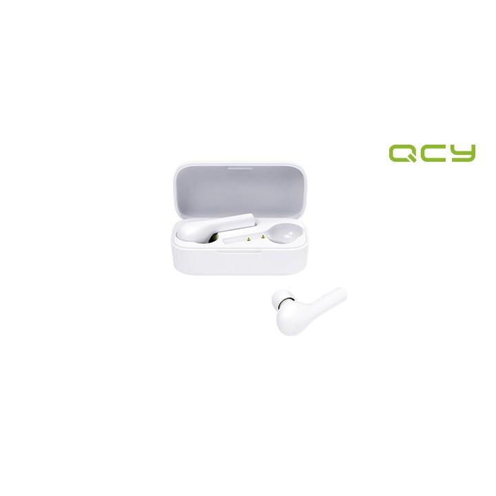 공식 QCY T5 APP 무선이어폰 블루투스이어폰 화이트