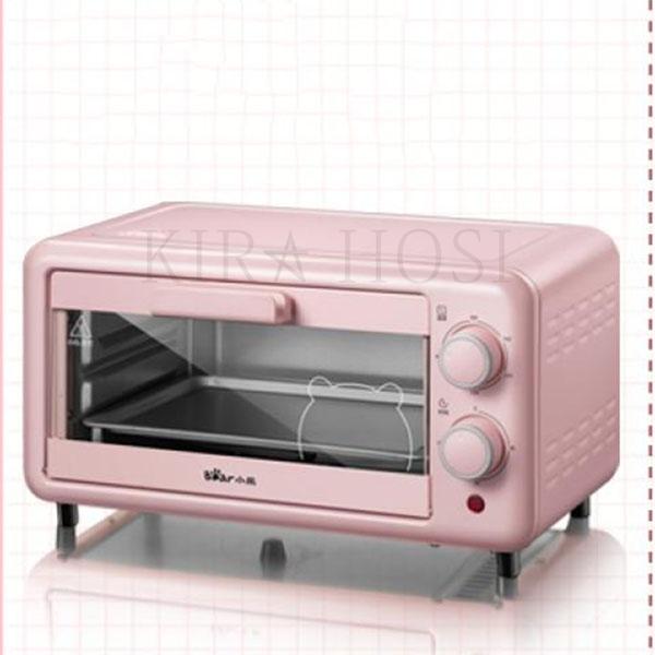 디지털 오븐 베이킹 자가용 컴팩트 바베큐 전기 미니 kirahosi 35호 CWu7m2l, 핑크