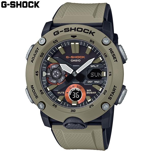 지샥 카본 코어 가드 GA-2000-5A 남성 스포츠 시계