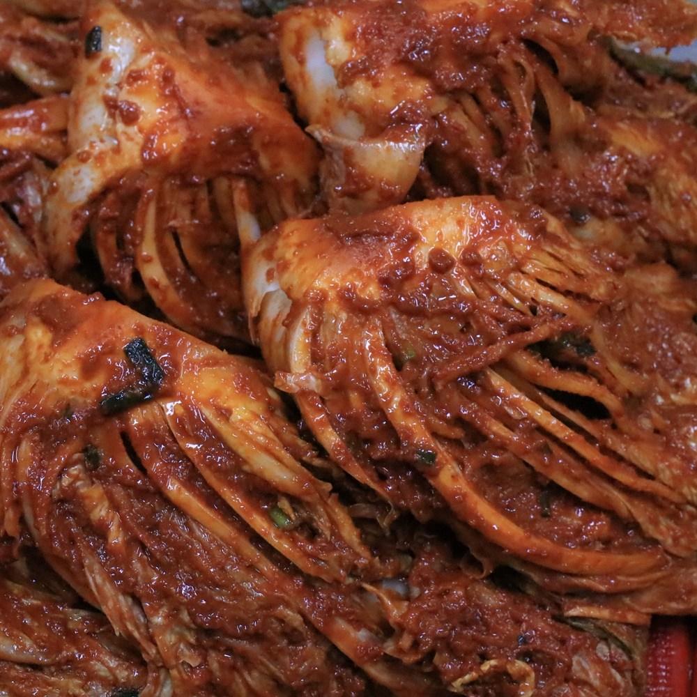 전라도 김치 매운김치 불김치 맛있게 매운맛 1kg, 1box