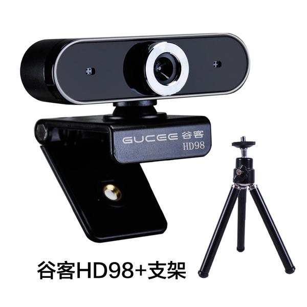USB 화상 PC 카메라 수업 강의 회의 화상캠 웹캠, HD98 (브래킷 포함)