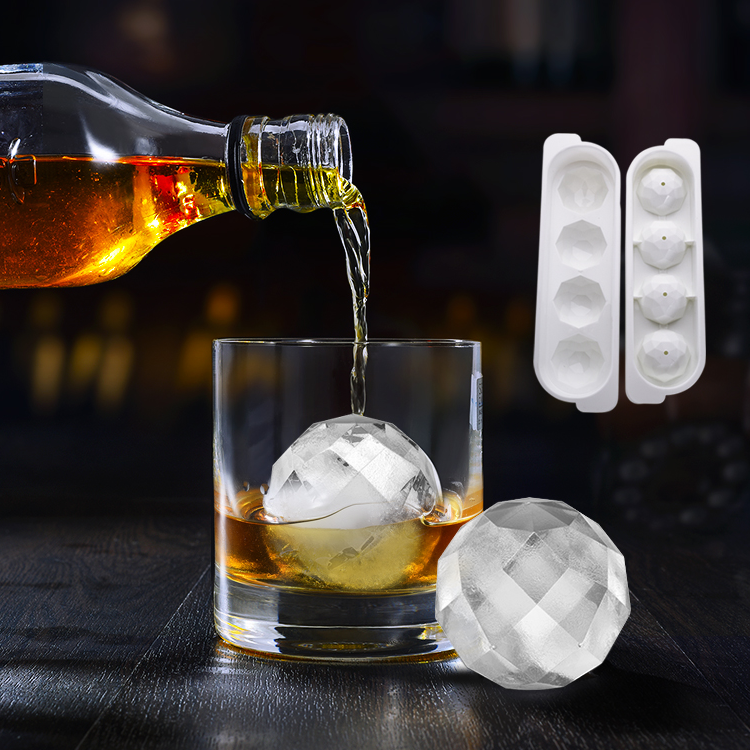 리디안 동그란 얼음 양주 하이볼 칵테일 얼음트레이 (POP 1848294556)