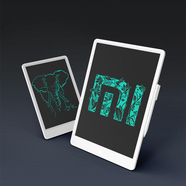 샤오미 LCD 전자노트 전자패드 부기보드 메모장 10인치 13.5인치 드로잉패드[무료배송], 화이트